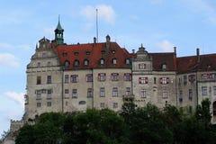 城堡sigmaringen 库存图片