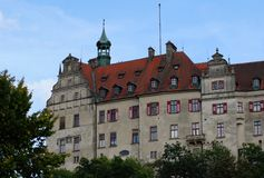 城堡sigmaringen 免版税库存图片