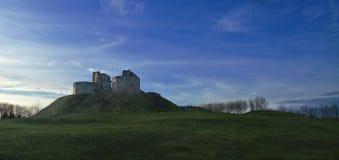 城堡stafford冬天 图库摄影