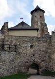 城堡Stara Lubovna,斯洛伐克,欧洲 库存照片