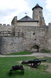 城堡Stara Lubovna,斯洛伐克,欧洲 库存图片