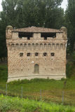 城堡Stellata (费拉拉) 免版税库存图片