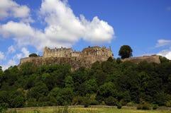城堡stirling 免版税库存图片