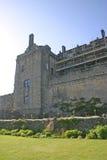 城堡stirling 免版税图库摄影