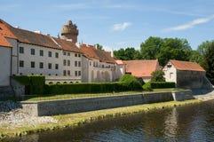 城堡Strakonice,捷克 库存照片