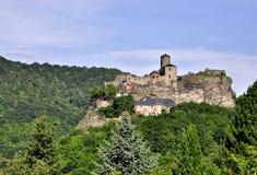 城堡Strekov 库存照片