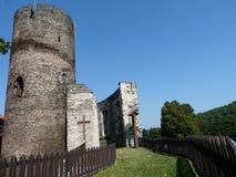 城堡Svojanov 库存照片