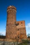 城堡swiecie 免版税图库摄影