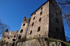 城堡Swiny废墟,波兰 免版税库存图片