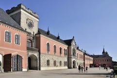 城堡Sychrov 免版税库存照片