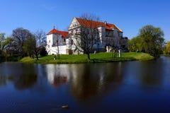 城堡szydloviec 库存图片
