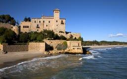 城堡tamarit 库存图片