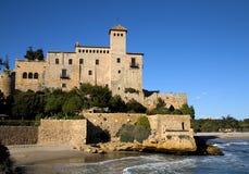 城堡tamarit 库存照片