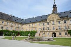 城堡tambach 库存图片