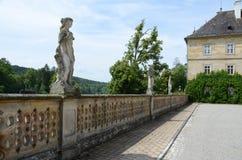 城堡tambach 免版税库存图片