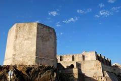 城堡tarifa 免版税图库摄影