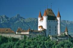 城堡thun 库存图片