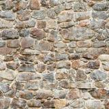 城堡tileable墙壁 免版税库存照片