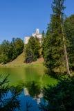 城堡Trakoscan Zagorje地区,克罗地亚 图库摄影