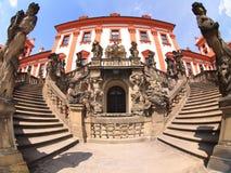 城堡troja 库存照片