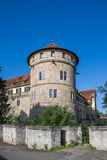 城堡tuebingen 免版税库存照片