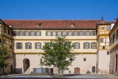 城堡tuebingen 库存图片