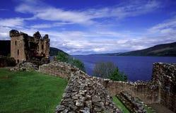 城堡urquhart 免版税库存图片