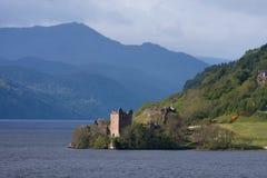 城堡urquhart 图库摄影