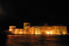城堡vaxholm 免版税库存照片
