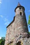 城堡velhartice 免版税库存图片