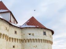 城堡Veliki塔博尔在克罗地亚 免版税库存照片