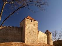 城堡veveri 免版税库存照片