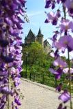 城堡vianden 免版税库存图片