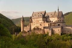城堡vianden 图库摄影
