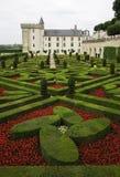 城堡villandry的Loire Valley 库存图片