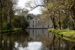 城堡Warmond,荷兰 图库摄影