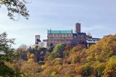 城堡Wartburg,德国 库存照片