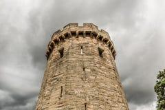 城堡warwick 免版税库存图片