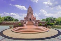 城堡Wat Kao Noi 图库摄影