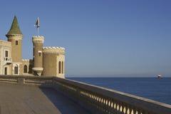 城堡Wulff在比尼亚德尔马,智利 库存图片