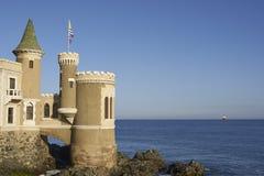 城堡Wulff在比尼亚德尔马,智利 免版税库存照片