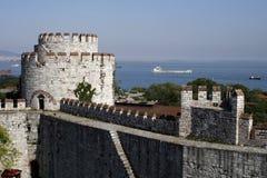 城堡yedikule 库存图片