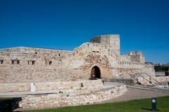城堡zamora 库存照片