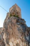 城堡zuheros 库存图片