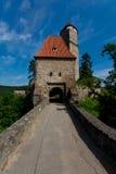 城堡Zvikov 图库摄影