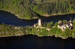 城堡zvikov 库存图片