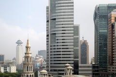 城市上海 免版税库存图片