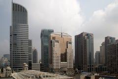 城市上海 库存照片