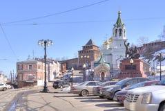 城市下诺夫哥罗德 免版税库存照片