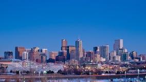 城市丹佛高英里 免版税图库摄影
